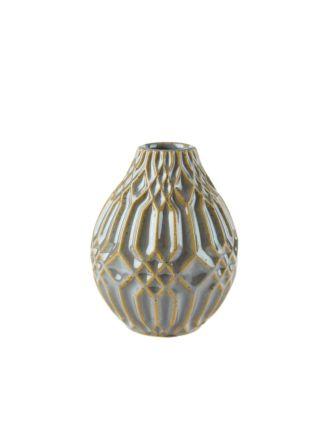 Paco Blue Vase 11cm