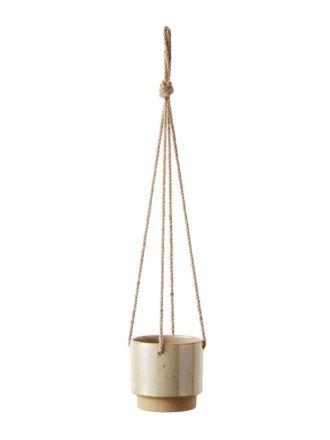 Paco Green Hanging Planter 14.5cm