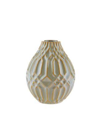 Paco Green Vase 16cm