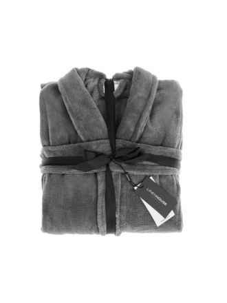 Plush Kids Charcoal Robe