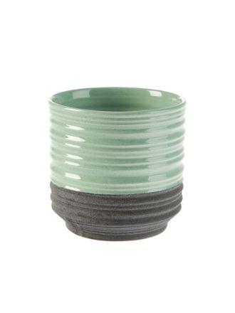 Ridges Mint Planter Pot 17.5cm