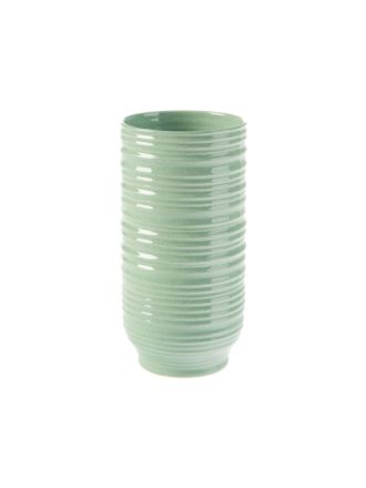 Ridges Mint Vase 26cm