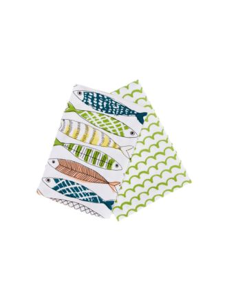 Sardinella 2-Piece Tea Towel Set