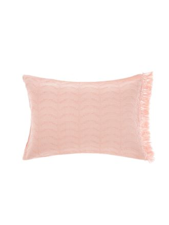 Shani Blush Pillow Sham Set