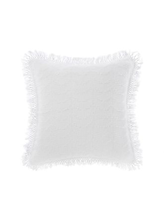 Shani White European Pillowcase