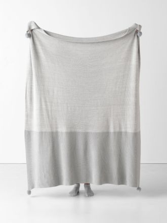 Shimo Grey Throw