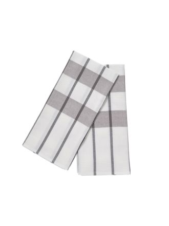 Smith Grey 2-Piece Tea Towel Set