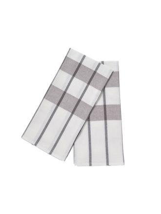 Smith Grey 2-Piece Tea Towel Set