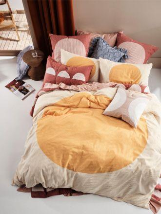 Solar Marigold Quilt Cover Set
