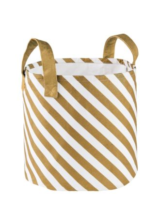 Stripe Large Storage Basket