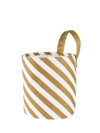 Stripe Medium Storage Basket