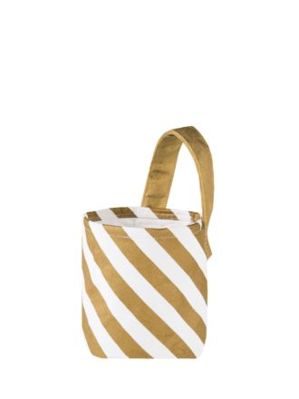 Stripe Small Storage Basket