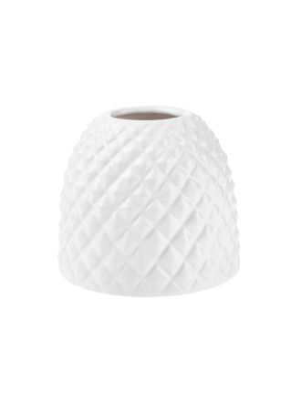 Tropical White Vase 11cm
