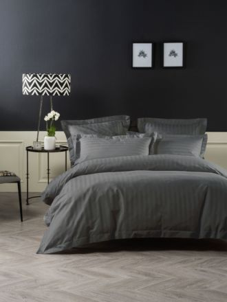 Vaucluse Charcoal Quilt Cover Set