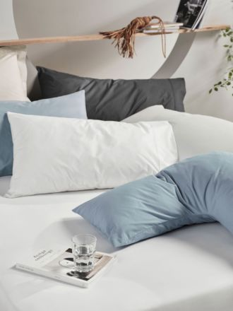 300TC Cotton Percale Vienna Fitted Sheet 50cm