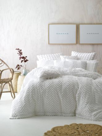 Fog White Quilt Cover Set