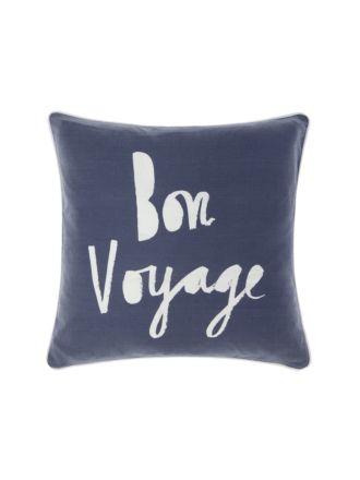 Bon Voyage Cushion 45x45cm
