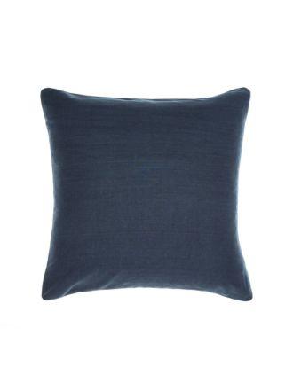 Nimes Indigo Linen European Pillowcase