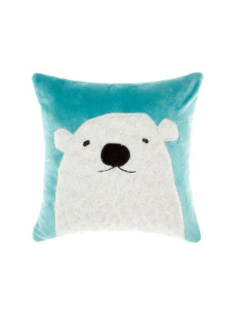 Polar Bear Cushion 45x45cm