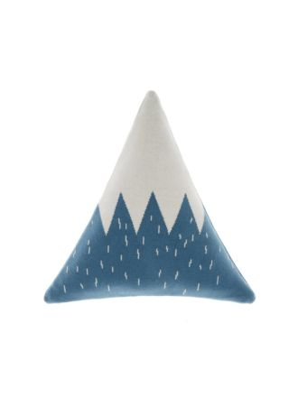 Snowy Mountain Novelty Cushion