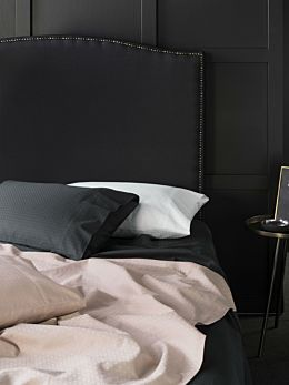 Cotton Sateen Jacquard Sheet Set