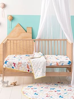 Animal Farm Cot Coverlet