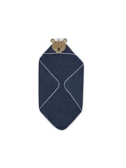 Sailor Ted Hooded Bath Towel