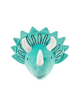 Triceratops Head Novelty Cushion