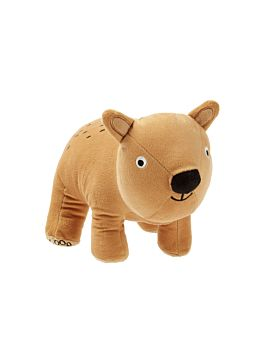 Wally Wombat Novelty Cushion