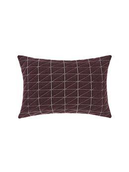 Arlo Aubergine Cushion 40x60cm