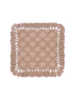 Circlet Terracotta Cushion 48x48cm
