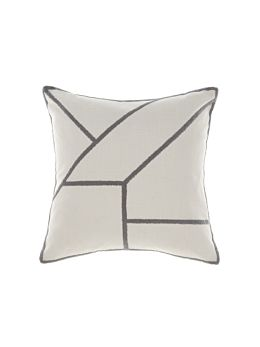 Diameter Silver Cushion 50x50cm