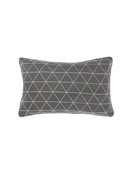 Everett Charcoal Cushion 35x55cm