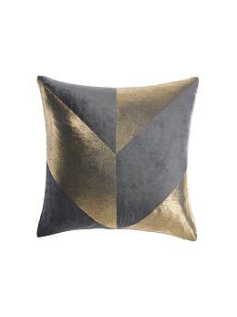 Everett Charcoal Cushion 48x48cm