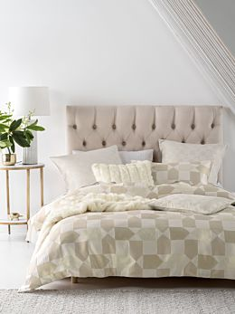 Fabiano Neutral Quilt Cover Set