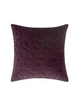 Kew Aubergine Cushion 45x45cm