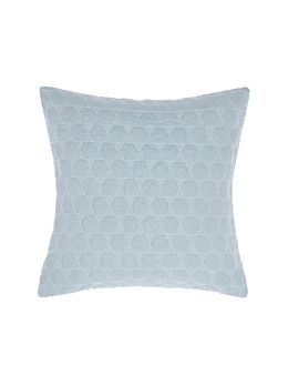 Nimes Blue Linen Cushion 50x50cm
