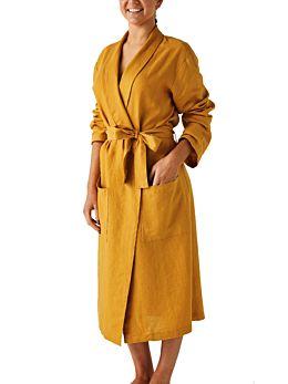 Nimes Chai Linen Robe