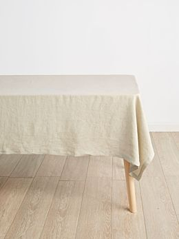 Nimes Natural Linen Tablecloth