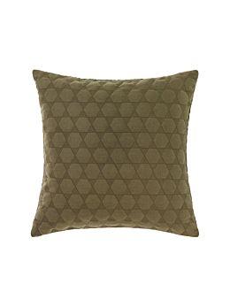 Nimes Olive Linen Cushion 50x50cm
