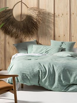 Nimes Surf Linen Quilt Cover Set