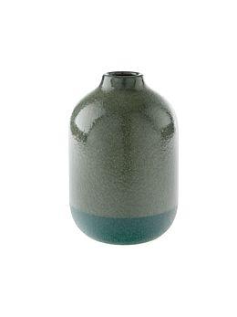 Salma Bottle Green Vase 20cm