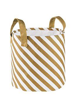 Stripe Large Storage Basket